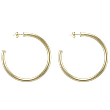 Sheila Fall - Small Everybody's Favorite Hoop Earring - Brushed Gold