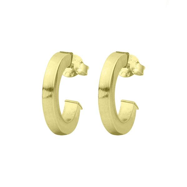 Sheila Fajl - Bianca Hoop Earring - Polished Gold