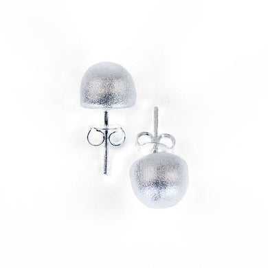 Sheila Fall - Lilou Stud Earrings - Brushed Silver