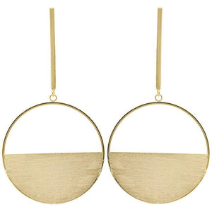 Sheila Fajl - The Avalon Earring - Brushed Gold