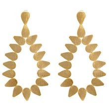 Sheila Fall - Livia Earrings - Brushed Gold