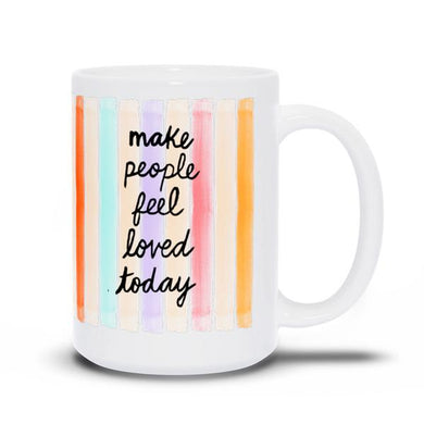 Evelyn Henson Mug - Confetti Stripes