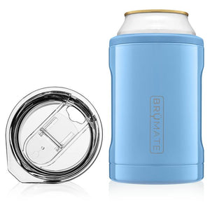 Brumate - Hopsulator 2-in-1 Duo - 12oz Cans Tumbler - Denim