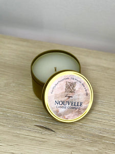 Nouvelle Candle Company - Large Tin Candle