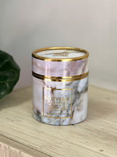 Nouvelle Candle Company - Large Boxed Gold Band Candle