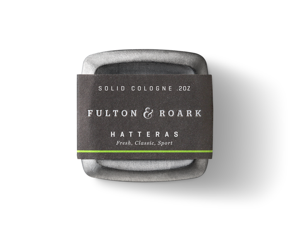 Fulton and Roark - Hatteras Solid Cologne