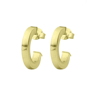 Sheila Fajl - Bianca Hoop Earring - Brushed Gold