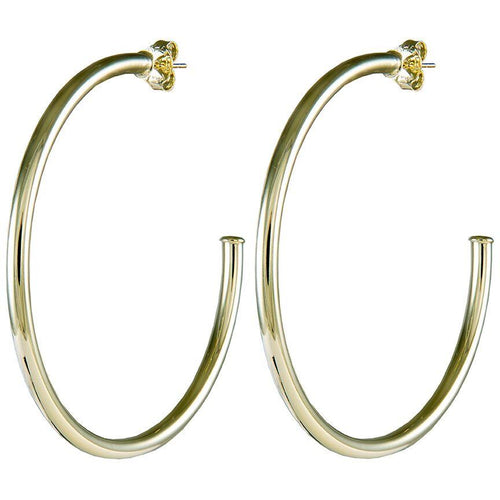 Sheila Fajl - Liana Hoops - Polished Gold