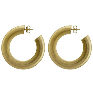Sheila Fajl - Irene Hoops - Brushed Gold