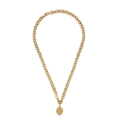 ELLIE VAIL - Mary Coin Necklace - Gold