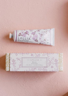 Lollia - Relax Perfumed Shea Butter Handcreme