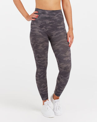 SPANX - Look At Me Now Seamless Leggings - Heather Camo