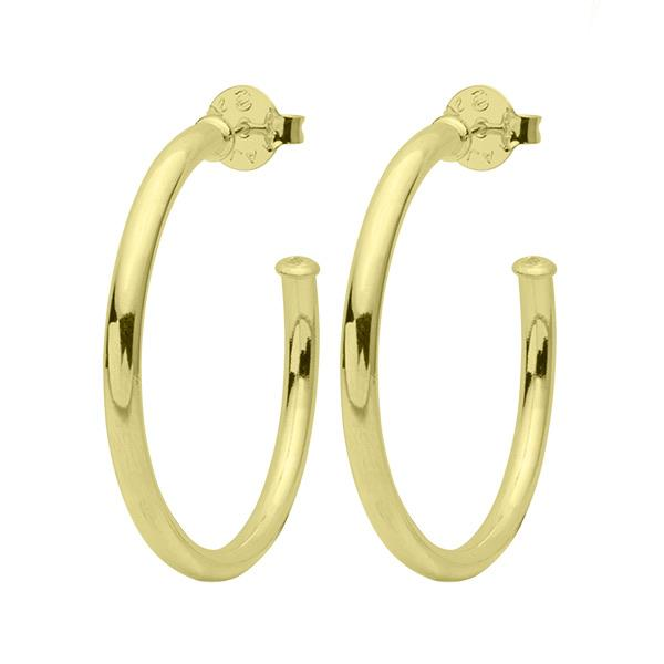 Sheila Fall - Small Everybody's Favorite Hoop Earring - Polished Gold