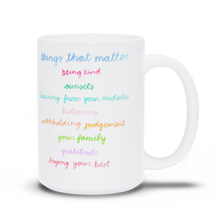 Evelyn Henson Mug - Things That Matter