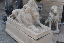 Lion of Hadrian – Left Hand – Garden Traditions Collection