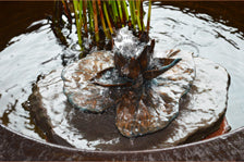 Bronze Lotus Fountain