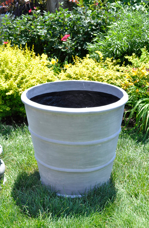 Conical Strapped Pot