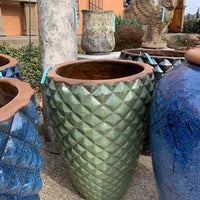 Pointed Planter - Green