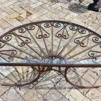 Coffee Table made from Antique Iron