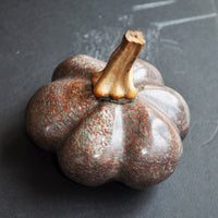 Hand Carved Stone Gourd 4""