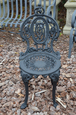 Estate Aged Iron Chair