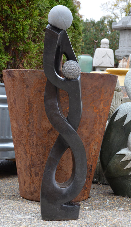 Father & Son - Fine Art Sculpture - African