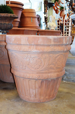 Rilievo Calitri Terra Cotta Planter