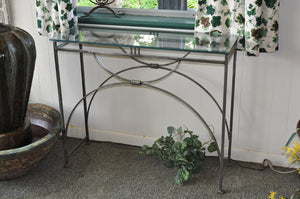 Hand Wrought Console