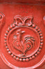 St. Jean de Fos Coq Urn & Base - Red