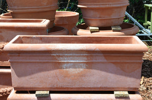 Cassetta Tipo Roma Terracotta Trough