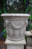Large Victorian Face Pot