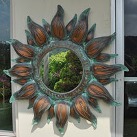 Copper Sun Mirror
