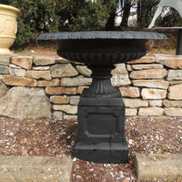 Classic Entrance Urn On Pedestal