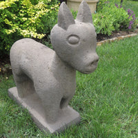 Old Carved Peruvian Stone VICUNA