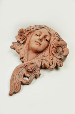 Art Nouveau Planter – Right Hair
