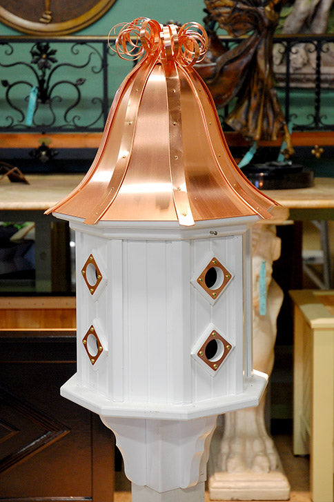"Dovecote Birdhouse 14"" Curly Top"