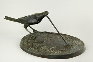 Early Bird Bronze Sundial