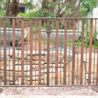 Contempo- Wrought Iron Gate, Fence, Posts