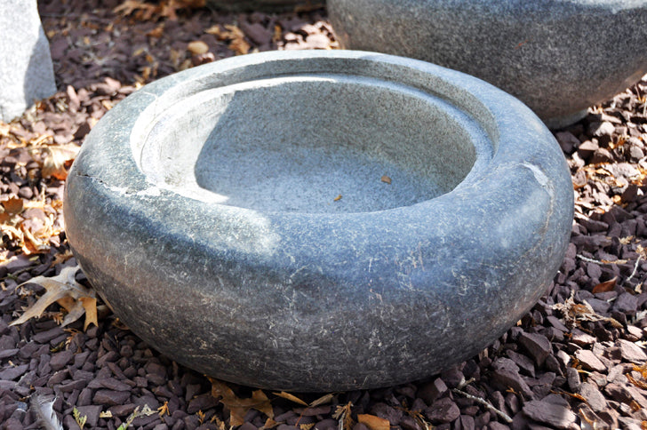 Granite Bowl Planter