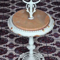 Antique Victorian Marble Top Stand