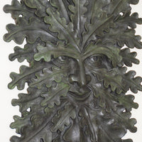 Oaken Sly Green Man - Limited Edition Bronze