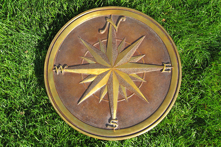 Compass Rose by John Downham