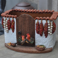 Handmade Mexican Walled Pottery