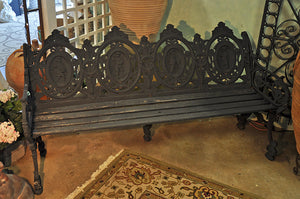 Victorian Four Seasons Bench