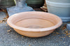 Terra Cotta Low Bowl - Poly - Antiqued Finish