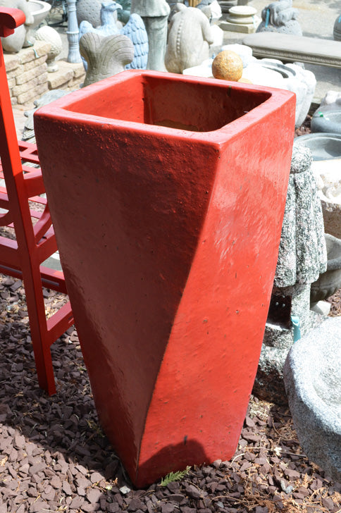 Twisted Square Planter