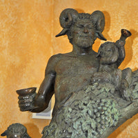 Bacchus & Friends Fountain - by Jim Ponter
