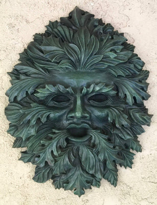 The Forest Spirit Green Man - Limited Edition Bronze