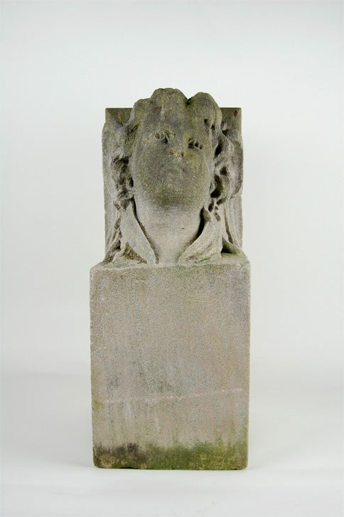 Antique Corbel - Carved Limestone