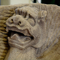Mythical Griffins - Carved Stone- Pair